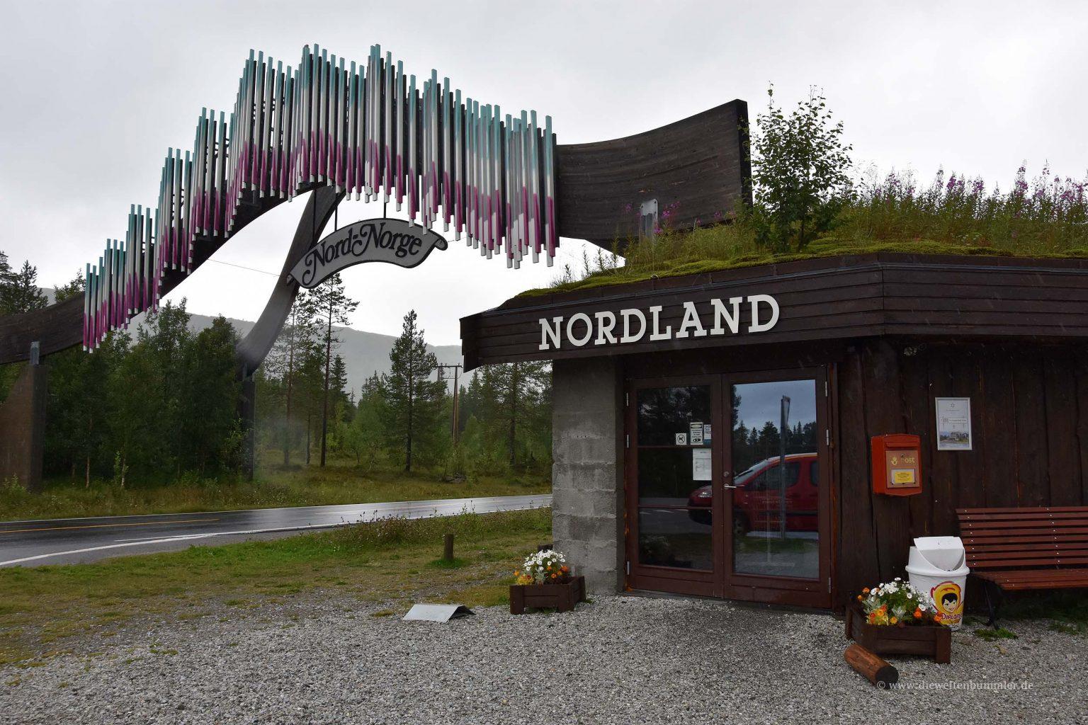 Übergang zu Nordland