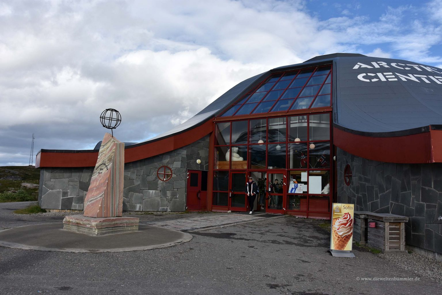 Besucherzentrum am Polarkreis