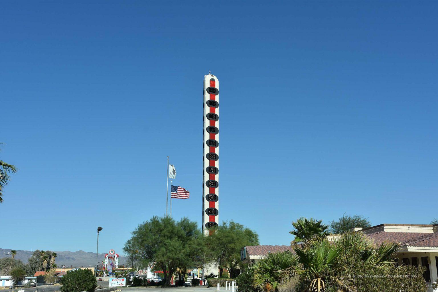 Größtes Thermometer der Welt
