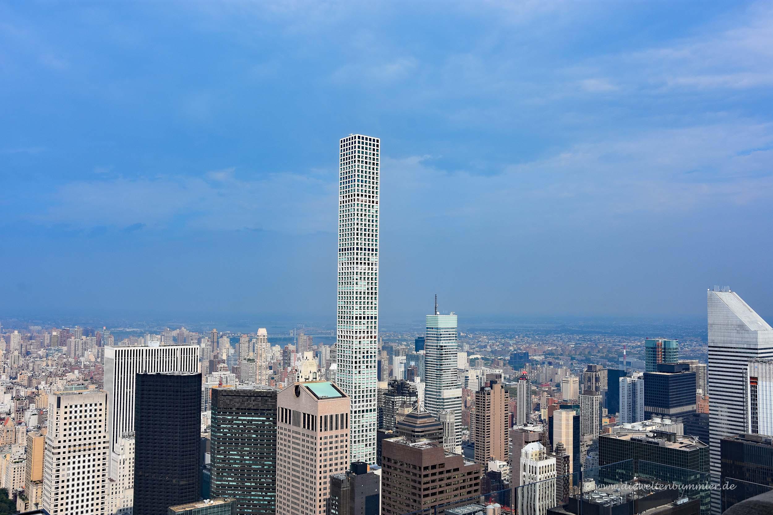 432 Park Avenue heißt der Turm