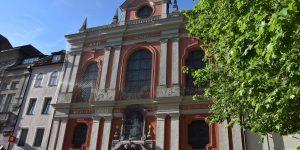 Fassade in der Neuhauser Straße