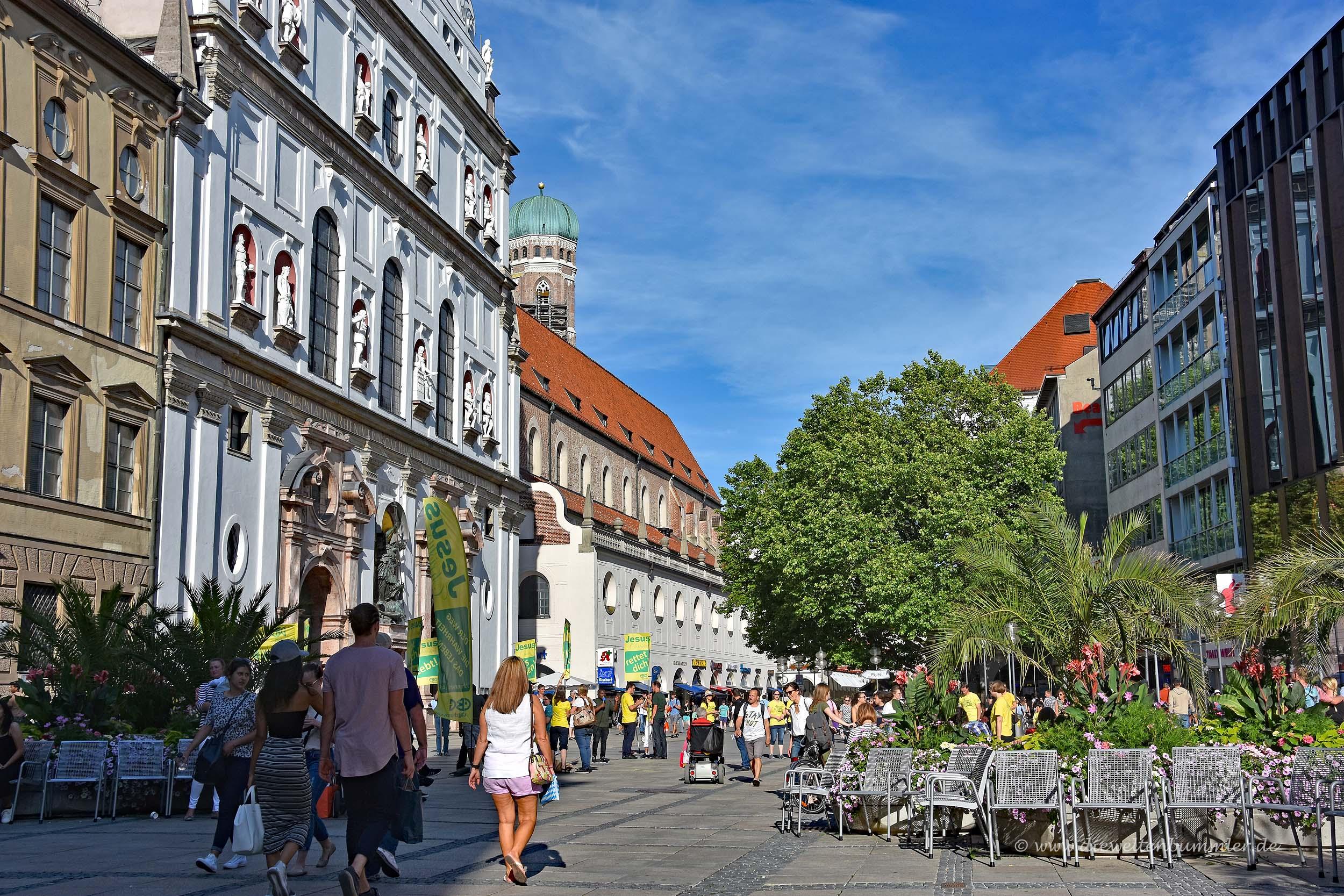Fußgängerzone in München
