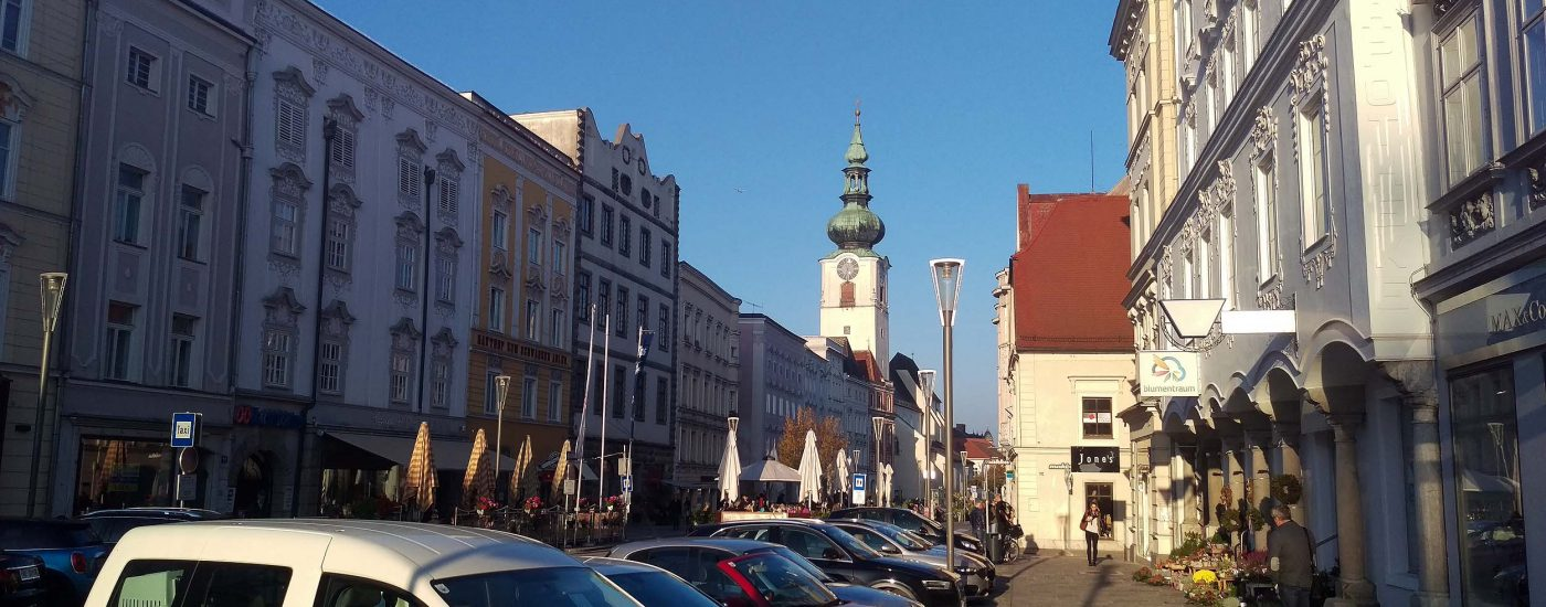 Innenstadt von Wels