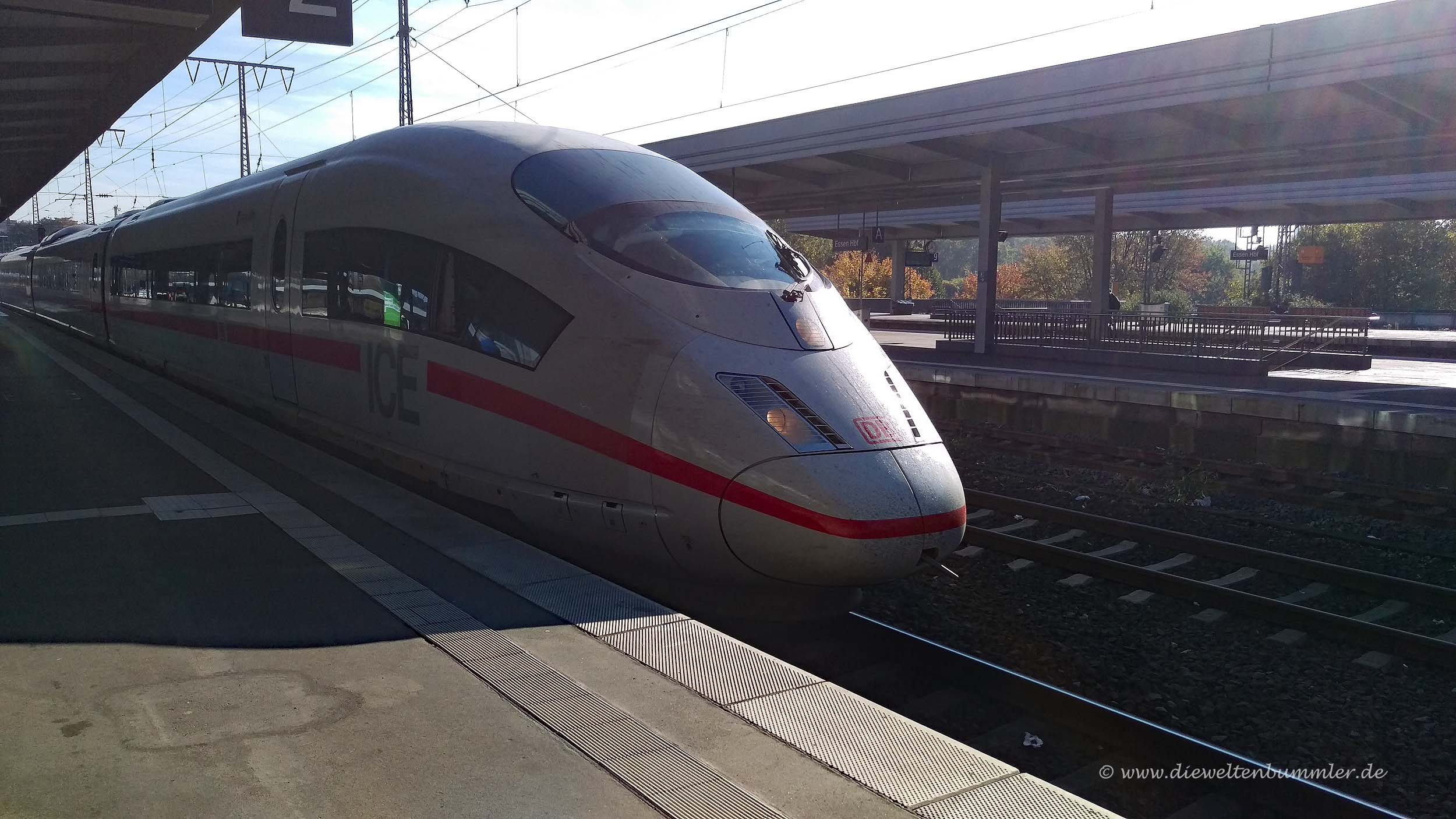 Mit dem ICE nach Österreich