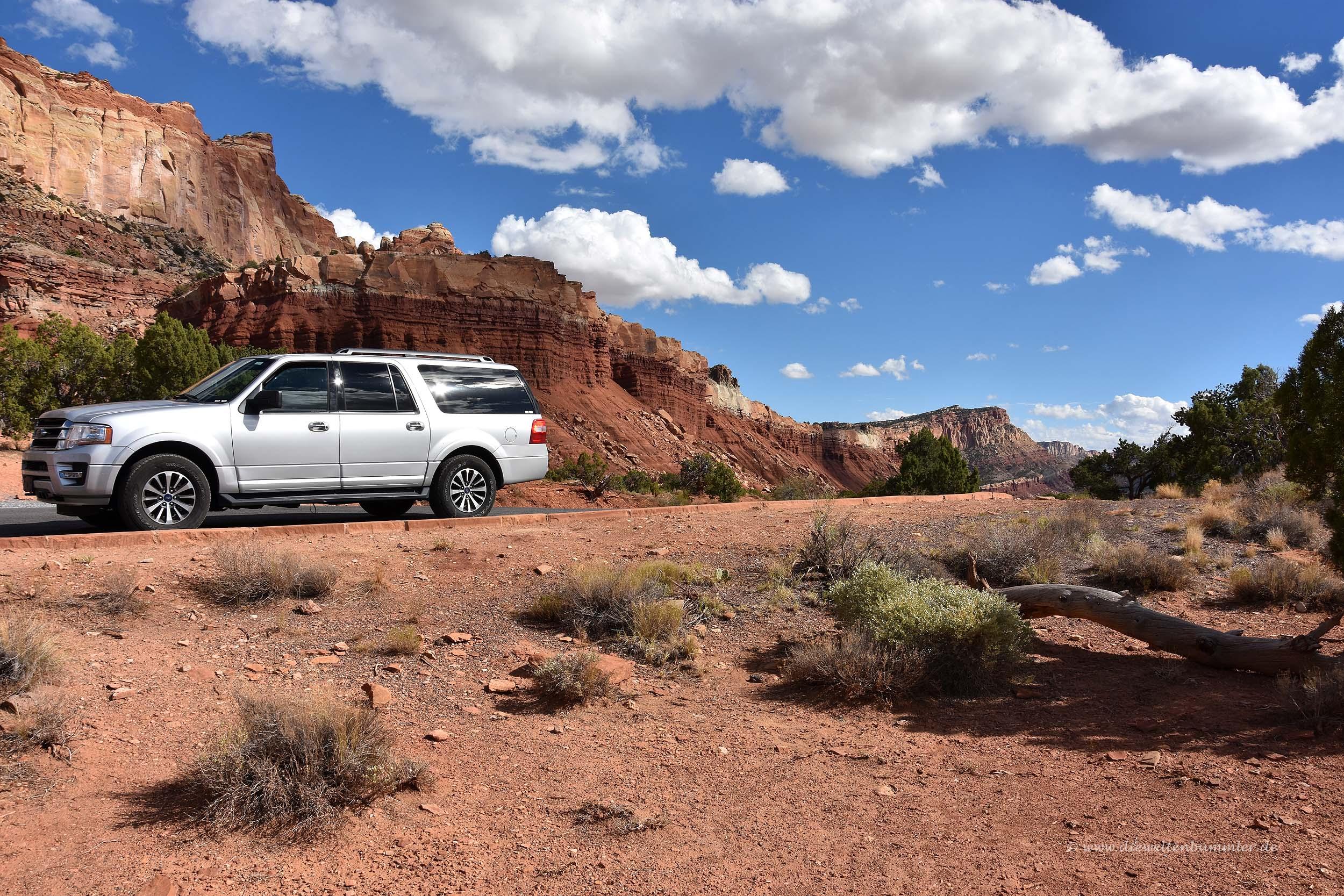Mit dem Mietwagen in den Nationalpark