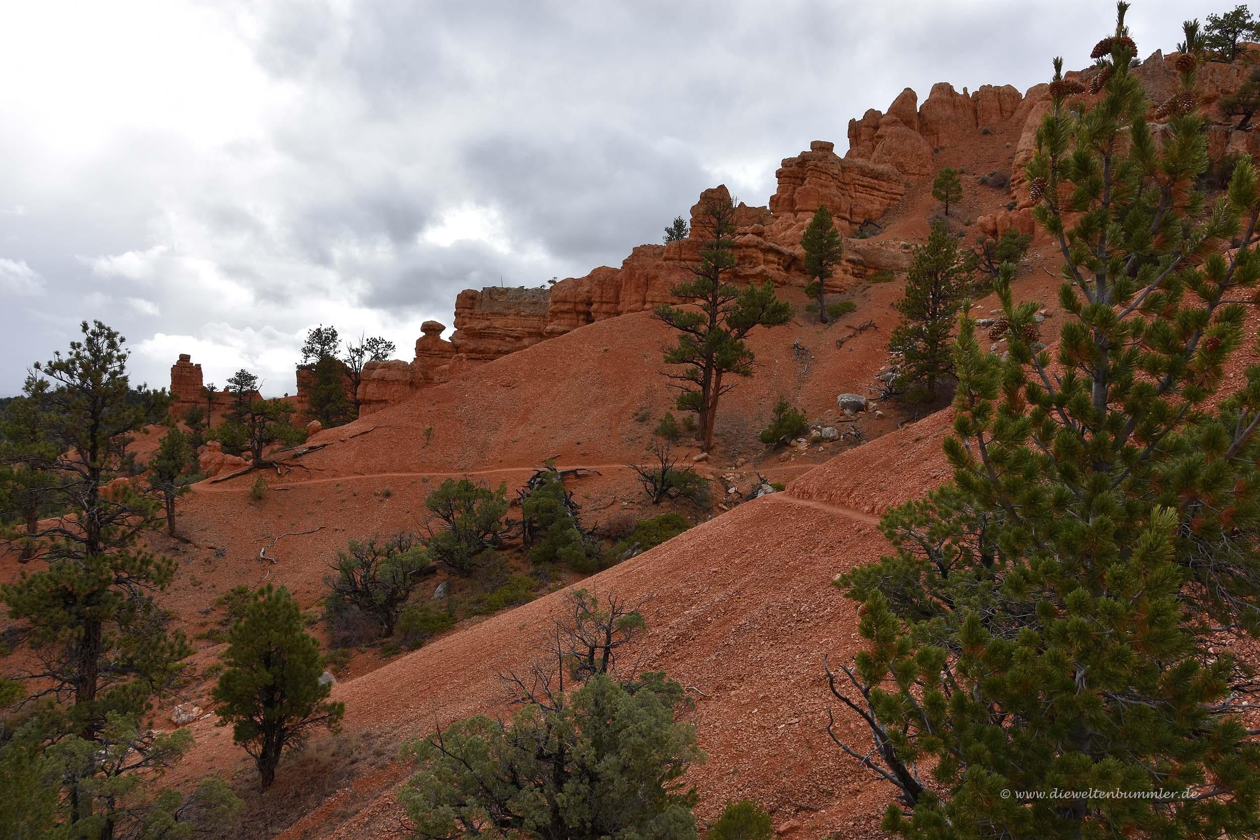 Red Canyon-Wanderweg