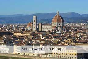 Sehenswertes in Europa