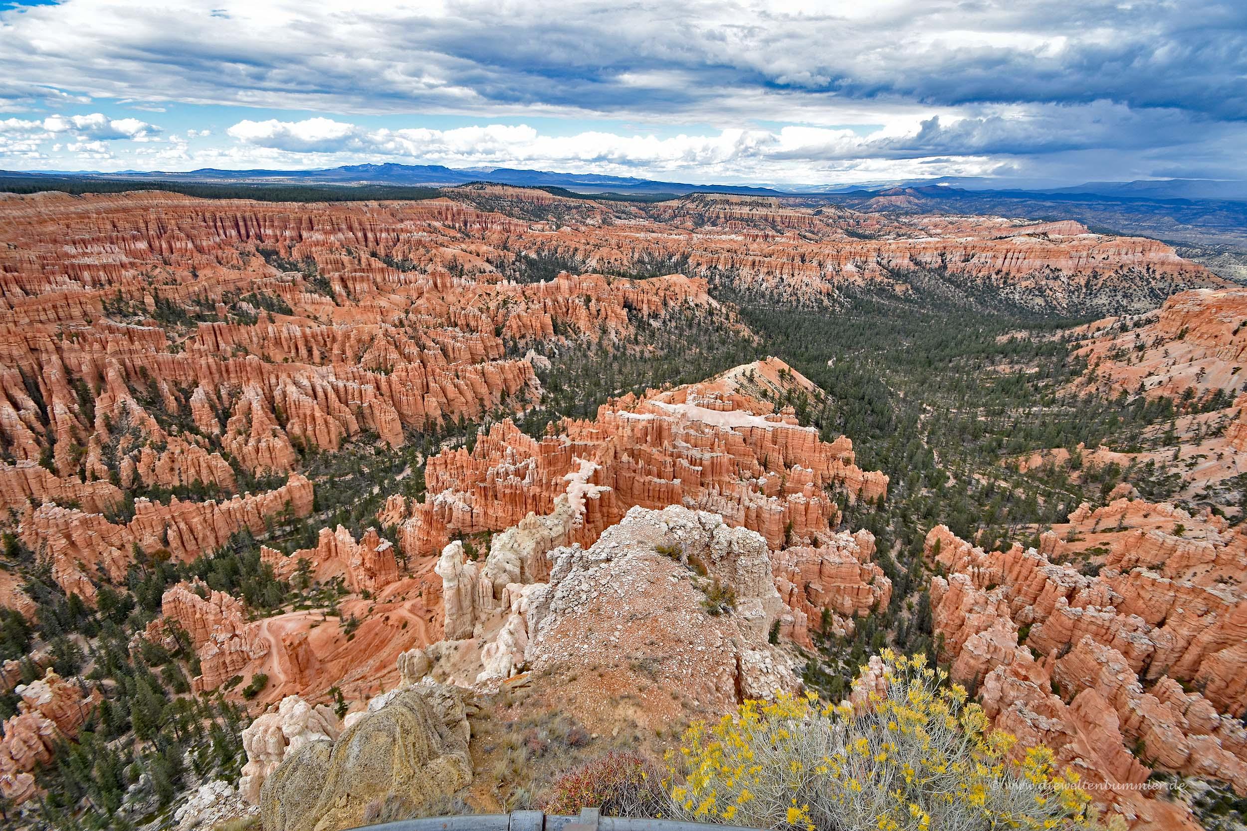 Traumhafter Ausblick auf den Nationalpark