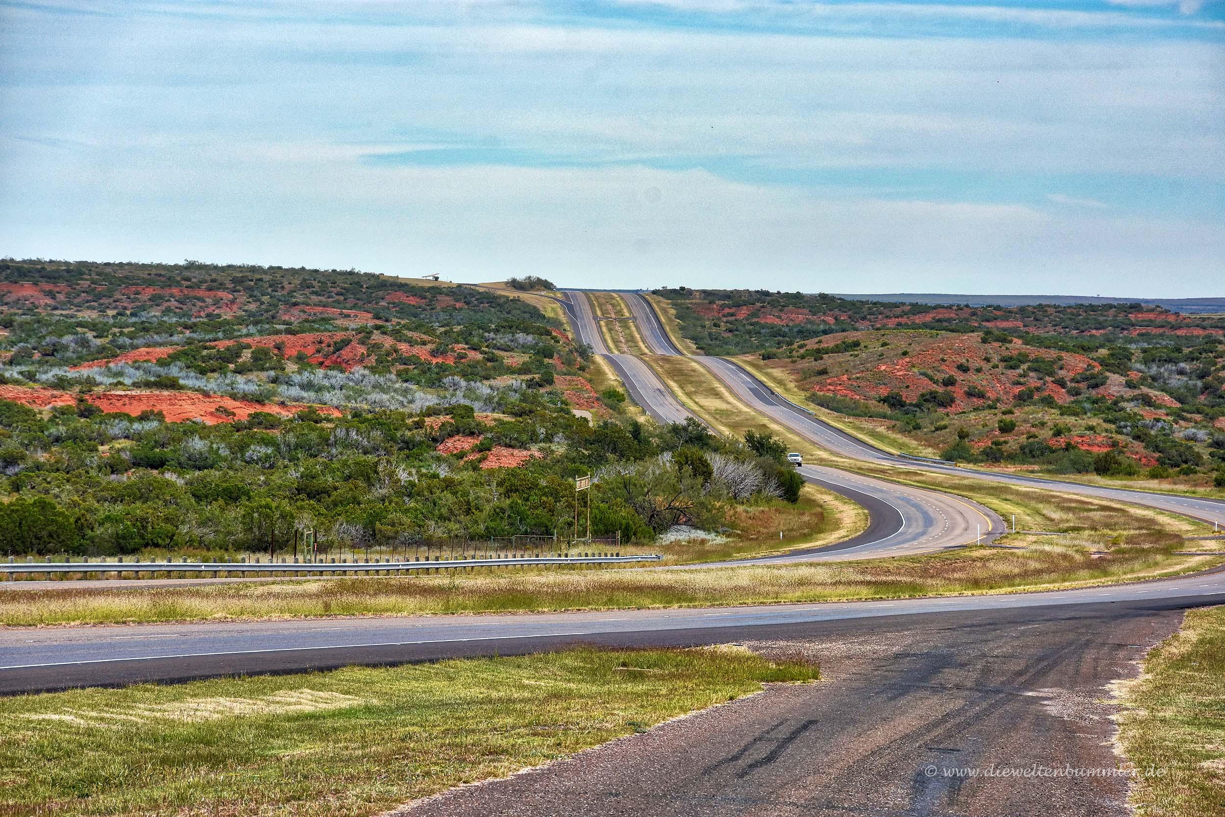 Einsame Interstate