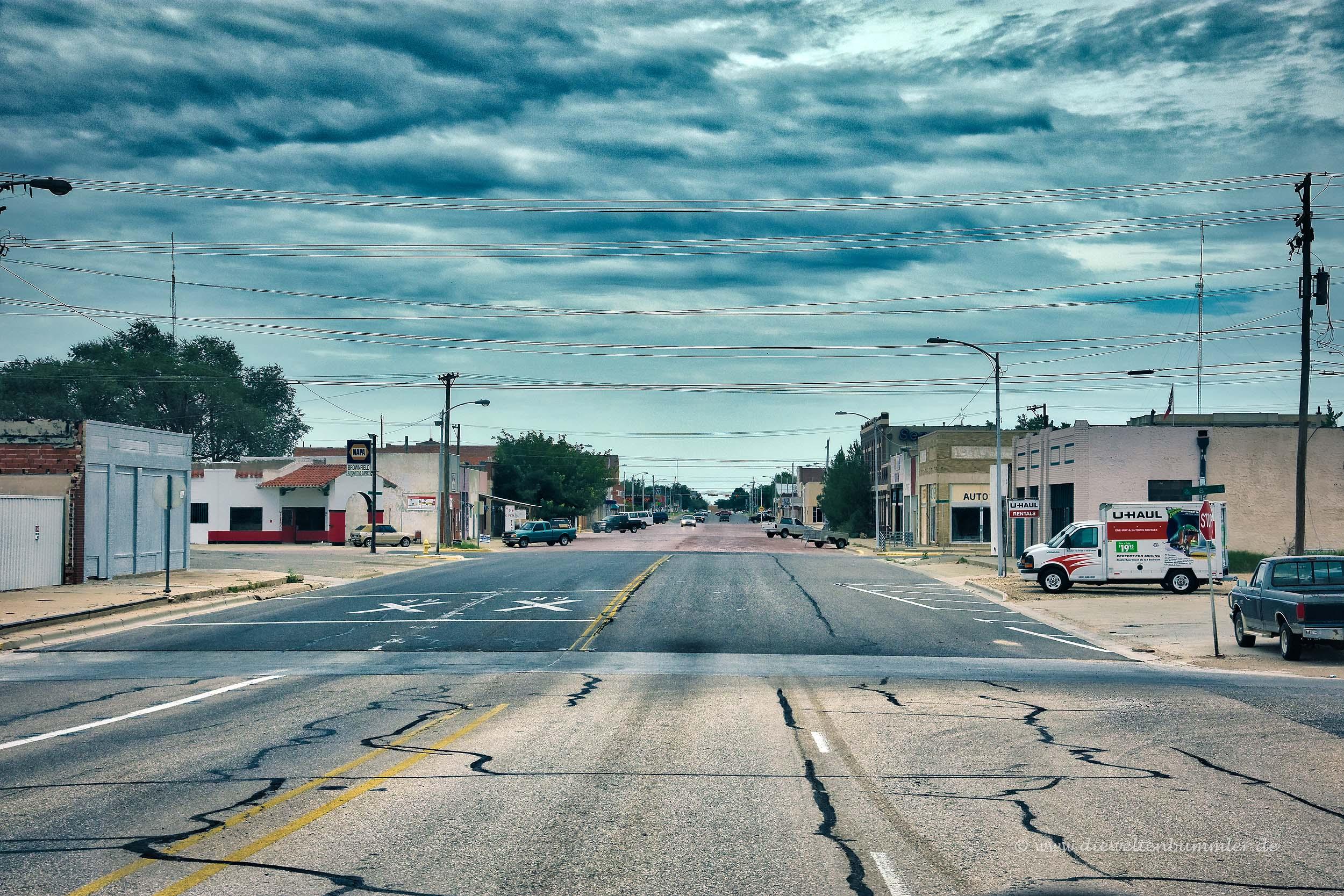Einsame Stadt