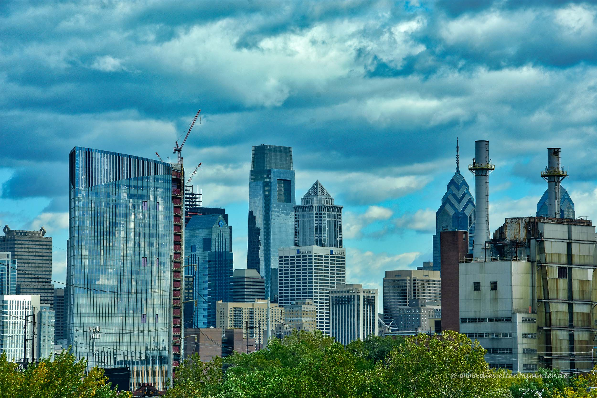 Skyline von Philly