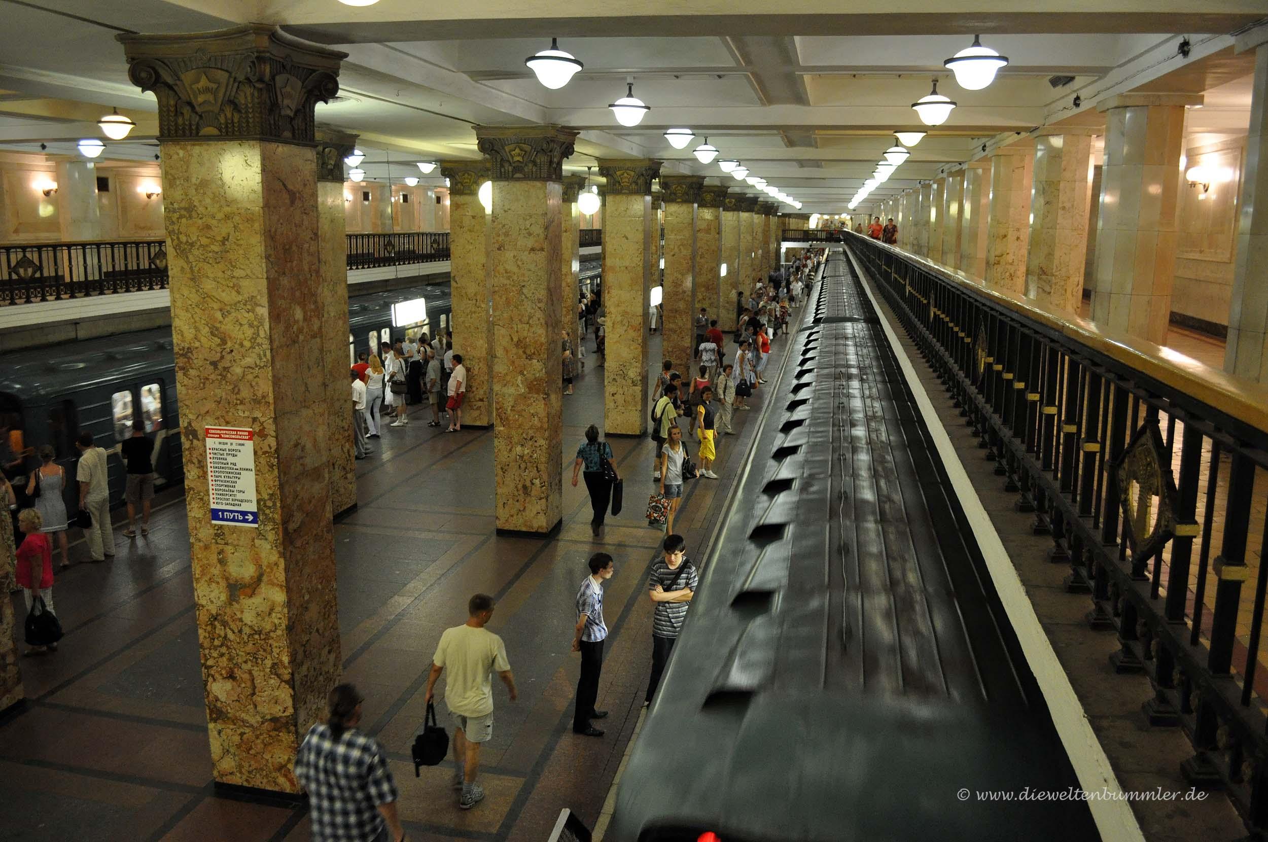 Metro in Moskau