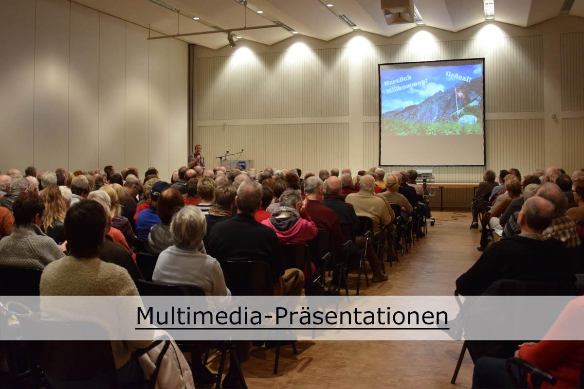 Multimedia-Präsentationen