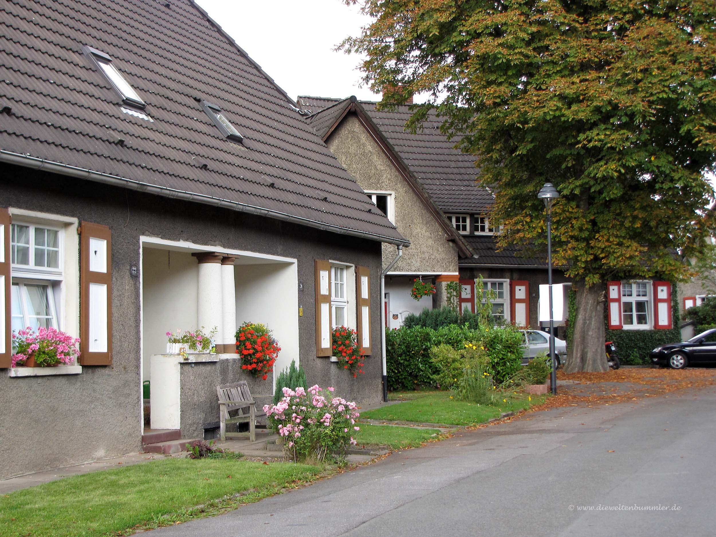 Gemütliche Wohnsiedlung in Essen