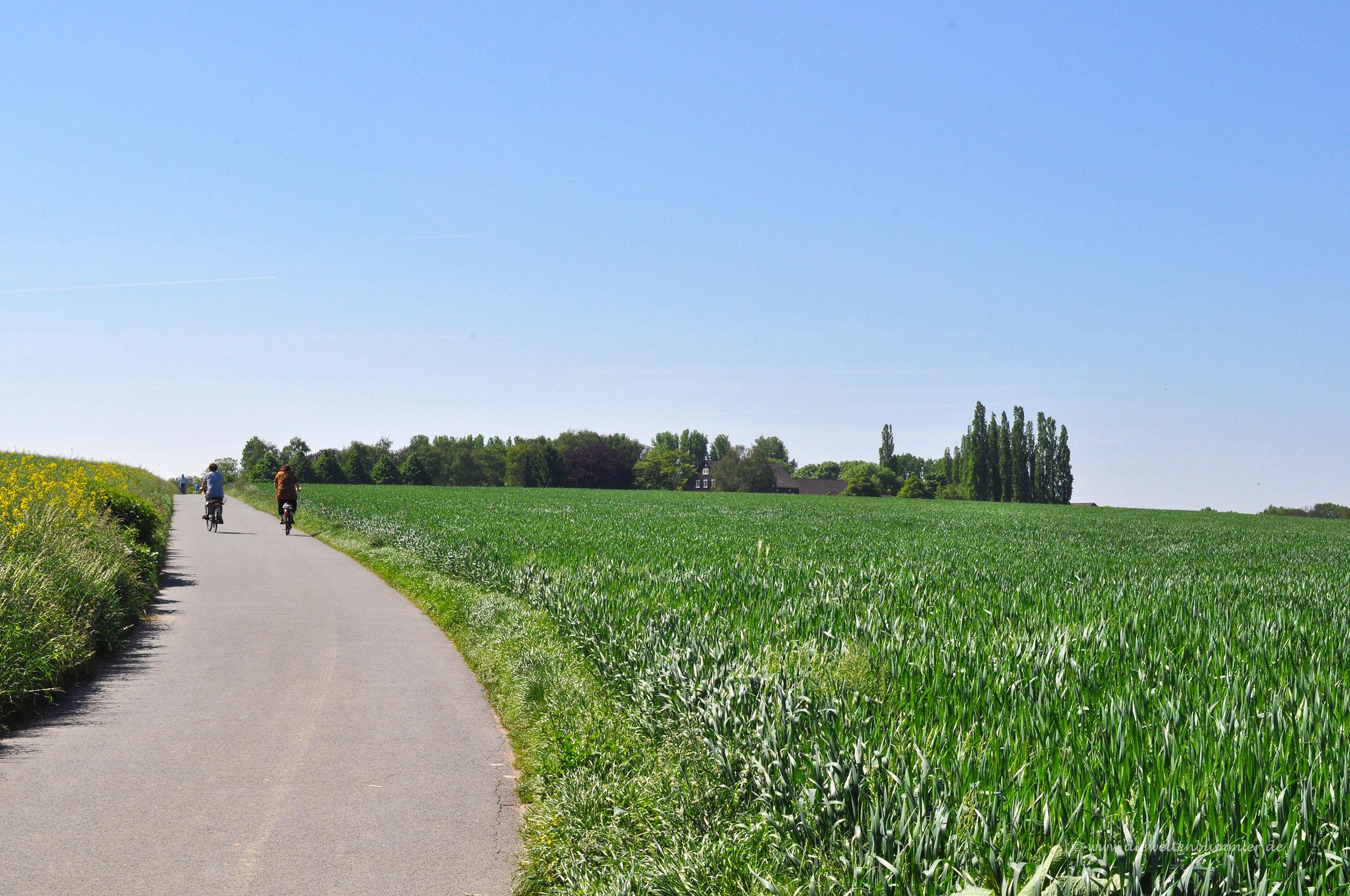 Wanderung zwischen Essen und Mülheim