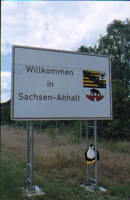 Autobahn in Sachsen-Anhalt