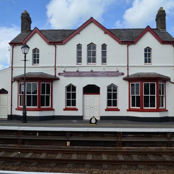 Bahnhof in Llanfair