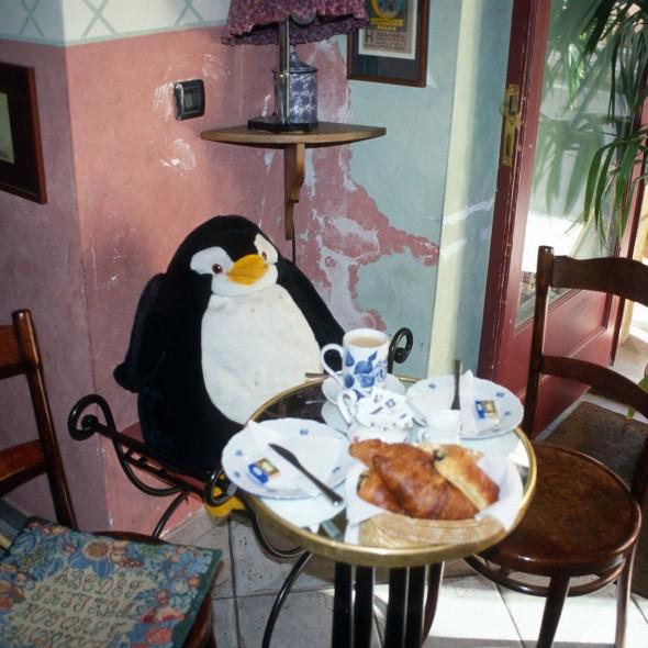 Frühstück in Prag