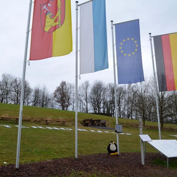 Geografischer Mittelpunkt der EU 2013