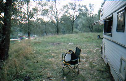 Irgendein Campingplatz