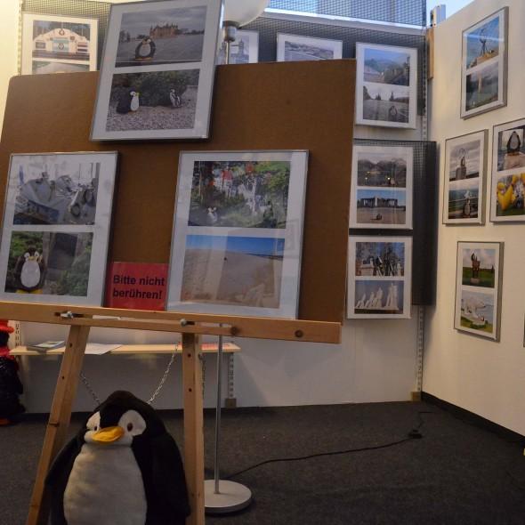 Pingu im Museum