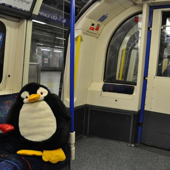 Tube in London