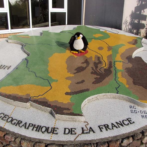 Geografischer Mittelpunkt von Frankreich