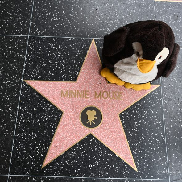 Walk of Fame - Minnie Maus