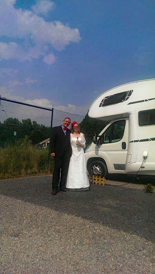 Hochzeit auf dem Stellplatz