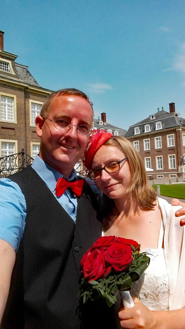 Hochzeit im Schloss Nordkirchen