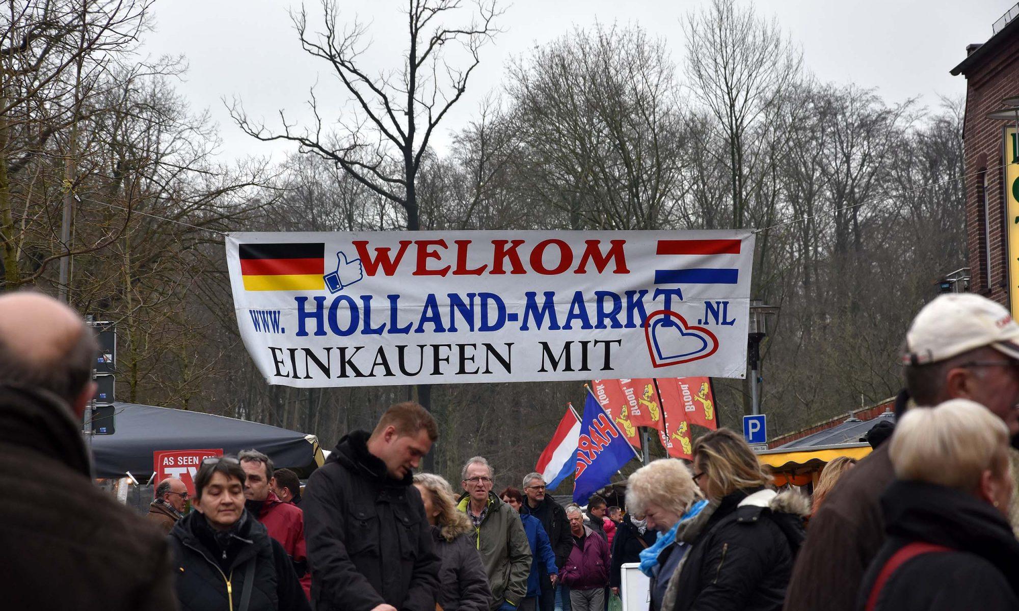 Willkommen auf dem Holland-Markt