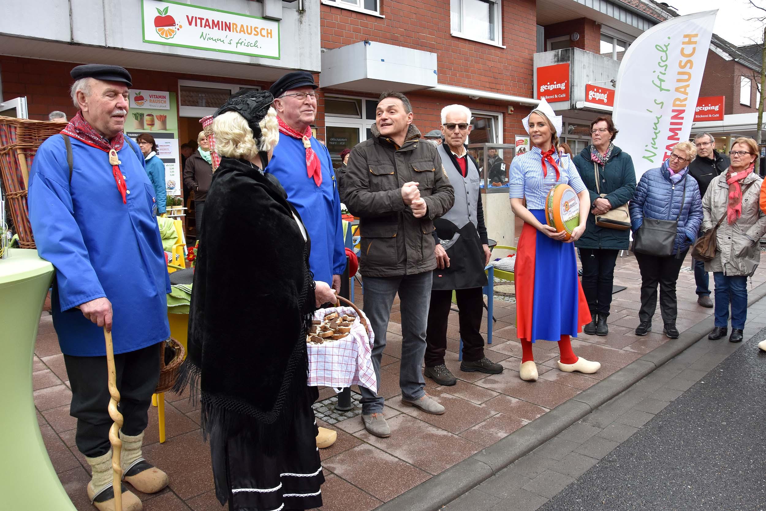 Eröffnung des Marktes durch den Bürgermeister