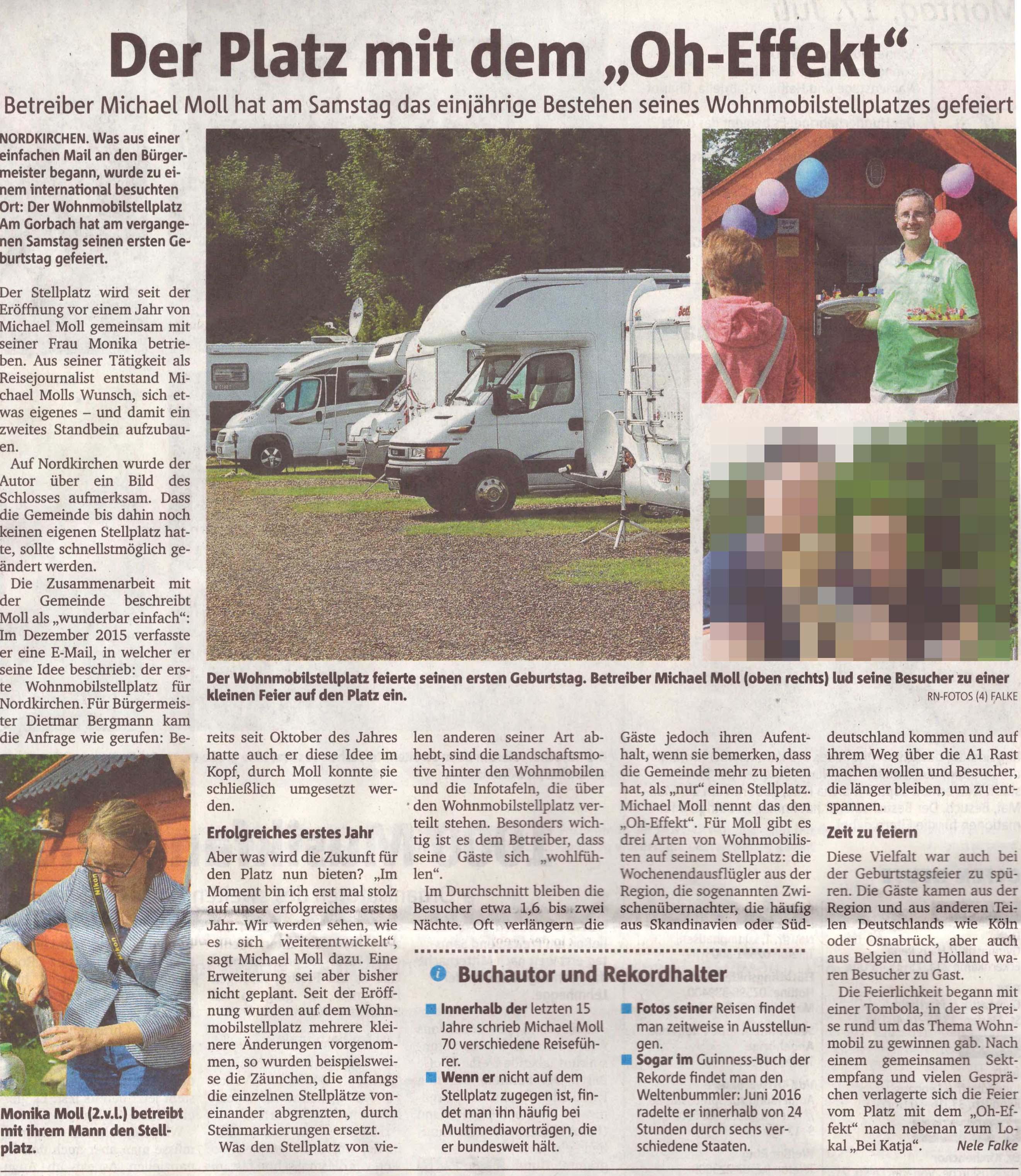 So berichteten die Ruhrnachrichten