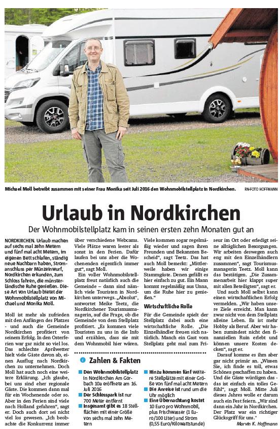 Ruhrnachrichten vom 9. Mai 2017