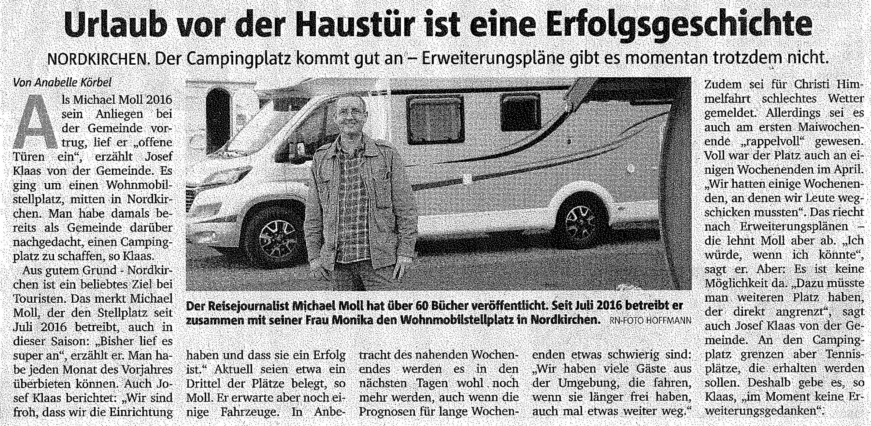 Ruhrnachrichten vom 11. Mai 2018