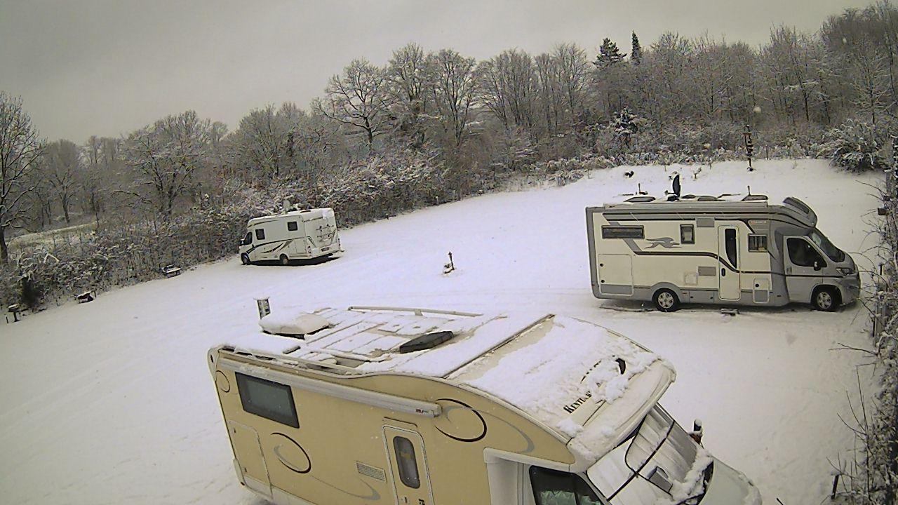 Nordkirchen im Schnee