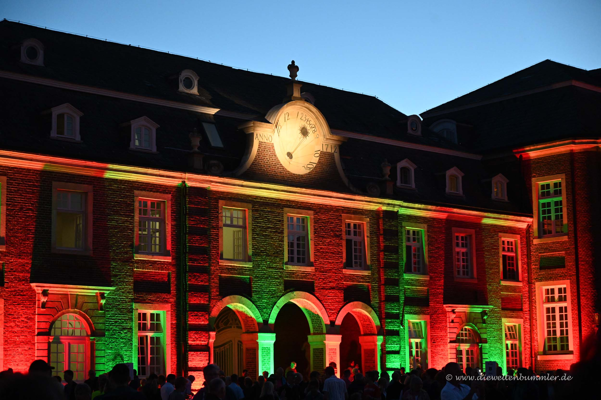 Illuminiertes Schloss Nordkirchen