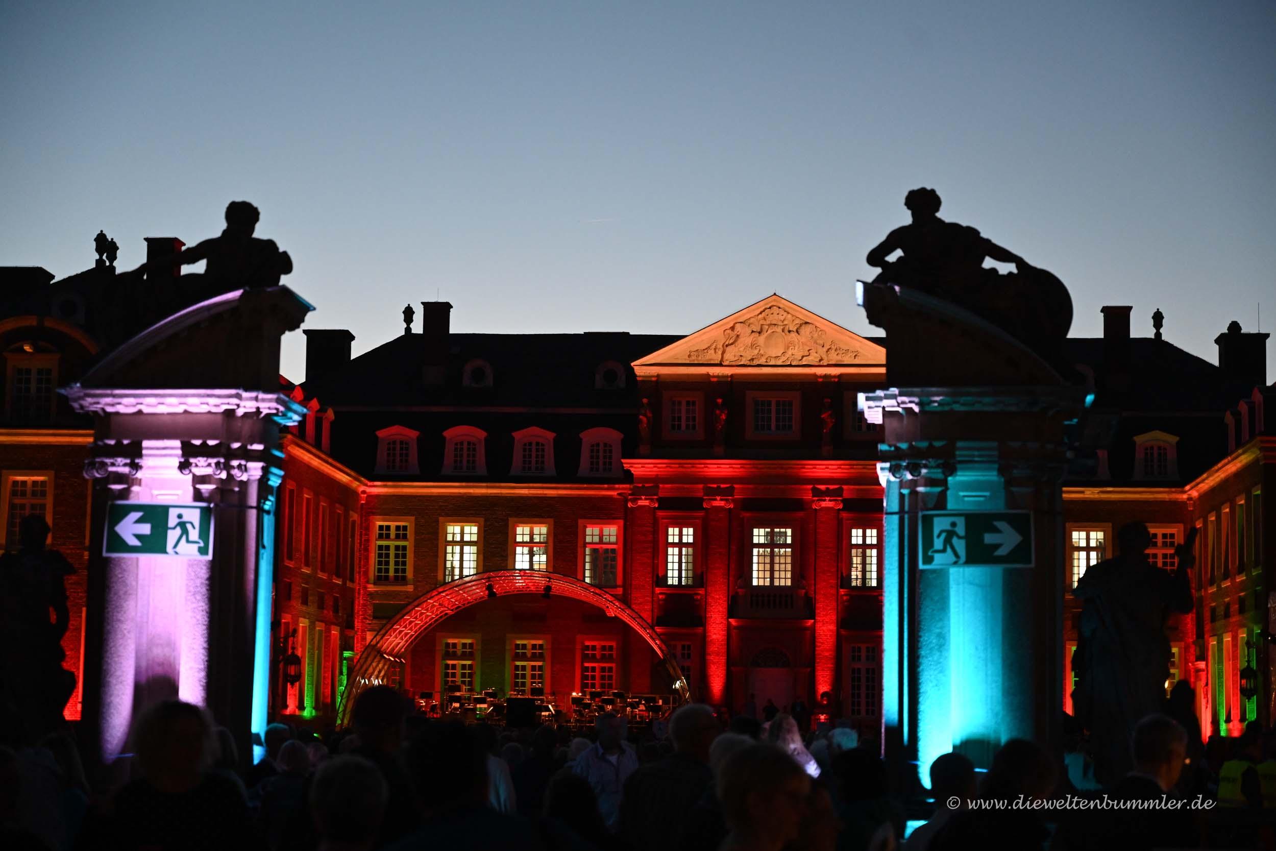 Zugang zum Schlosshof
