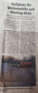 Ruhrnachrichten vom 20. März 2020