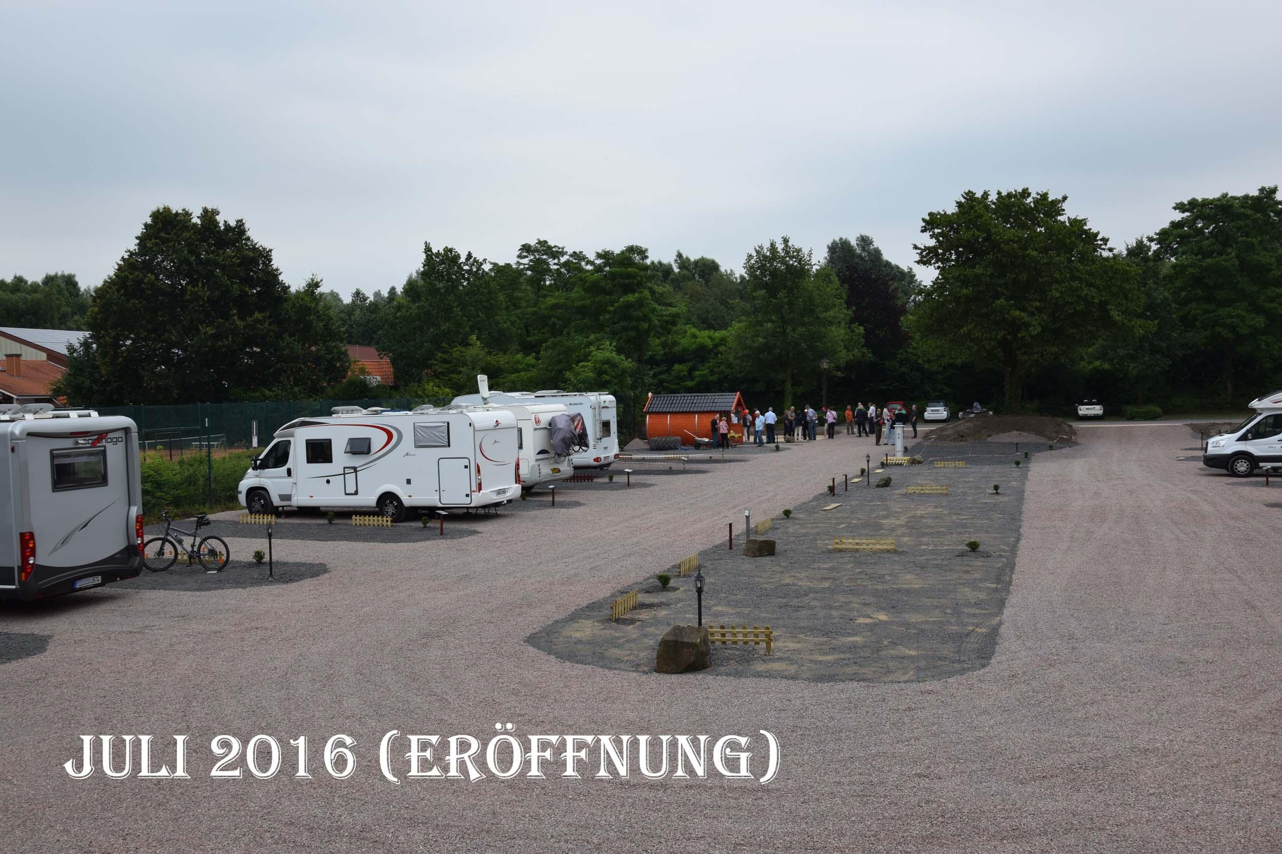 Juli 2016 Eröffnung