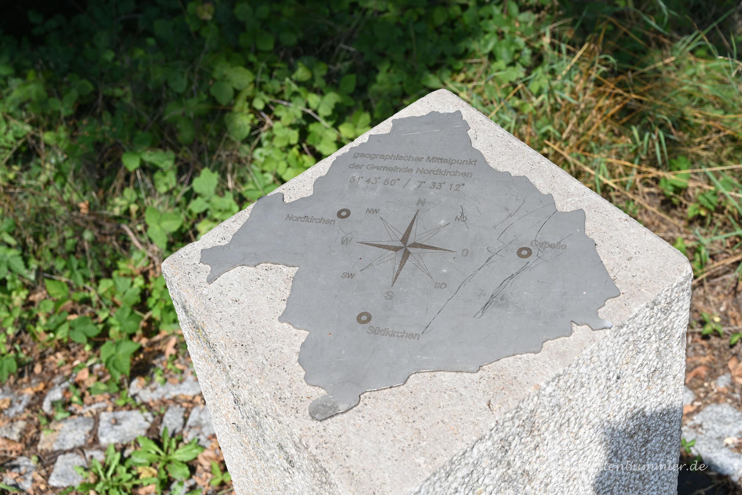 Geografischer Mittelpunkt von Nordkirchen