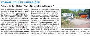 Westfälischer Anzeiger vom 13. August 2019