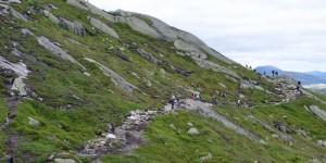 Wanderung zum Kjeragbolten