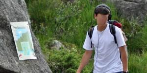 Wandern mit Musik