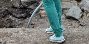 Wandern mit Stoffschuhen