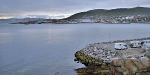 Wohnmobilstellplatz in Hammerfest