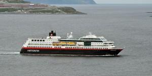 Schiff der Hurtigruten