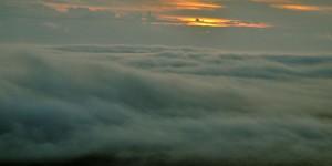 Wolken über dem Nordkap