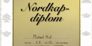 Nordkap-Diplom
