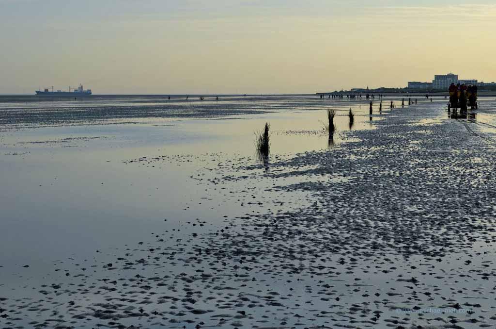 Nordseeküste bei Cuxhaven